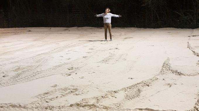 Onze Eindeloze Zandvlakte