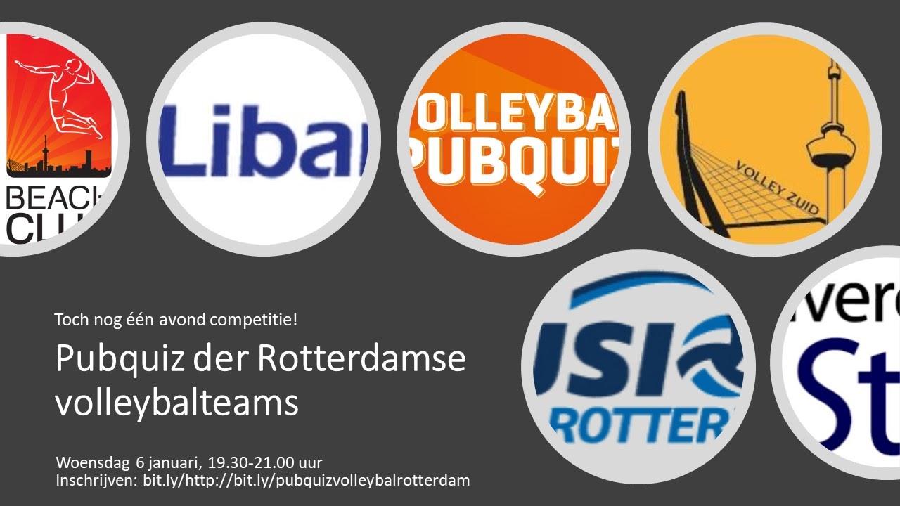 Pubquiz Der Rotterdamse Volleybalverenigingen