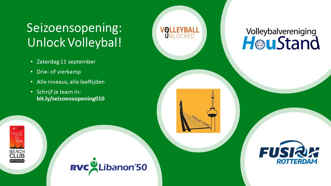 Seizoensopening Unlock Volleyball
